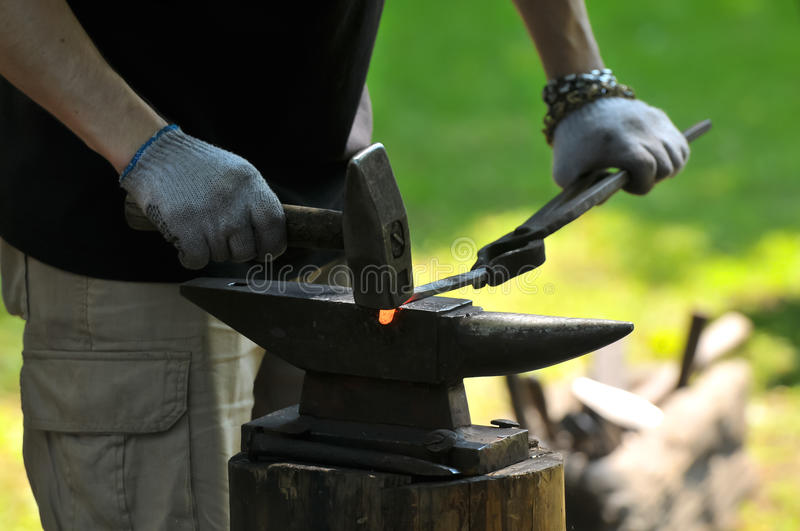 Download Blacksmith Royalty Free Stock Image - Image: 32928936