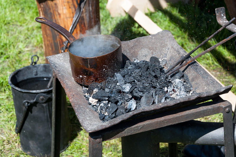 Blacksmith narzędzia zdjęcia stock