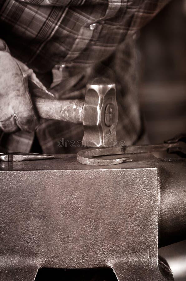 Free Blacksmith Shapes Hook Royalty Free Stock Image - 34502006