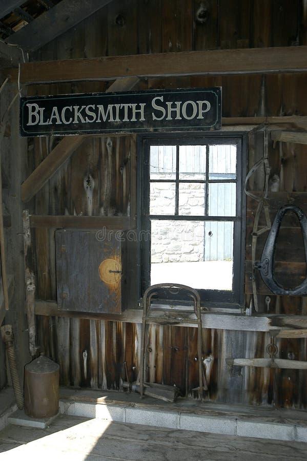 Download Blacksmith Shop stock photo. Image of wood, light, amish - 13794