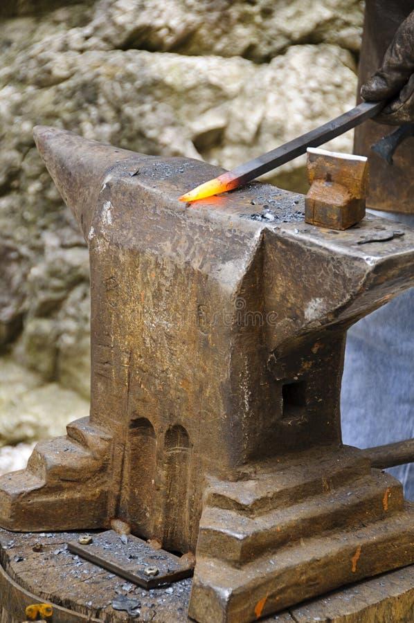 Blacksmith tools royalty free stock image