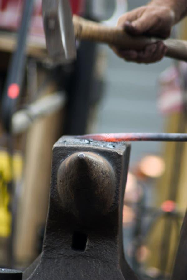 Blacksmith Working Stock Images