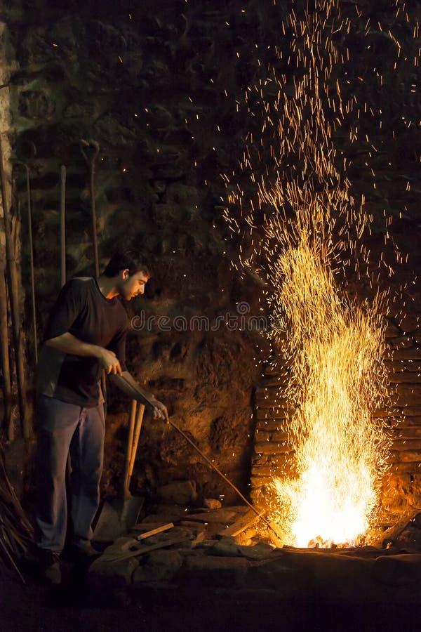 The blacksmith royalty free stock image