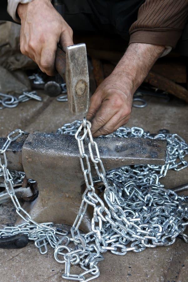 Download Blacksmith at workshop stock photo. Image of craft, equipment - 27897162