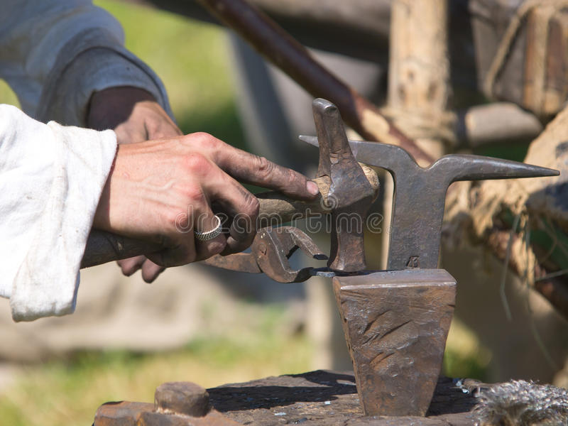 Download Blacksmith stock photo. Image of ancient, hammer, oldfashioned - 30460350