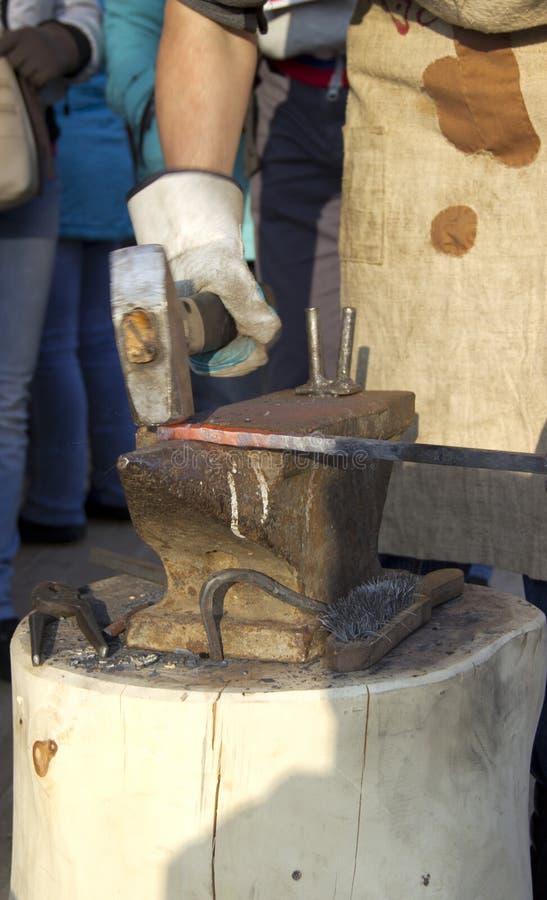 blacksmithing photographie stock
