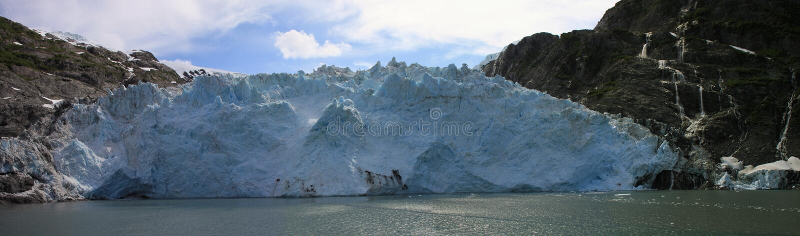 blackstone冰川 免版税图库摄影