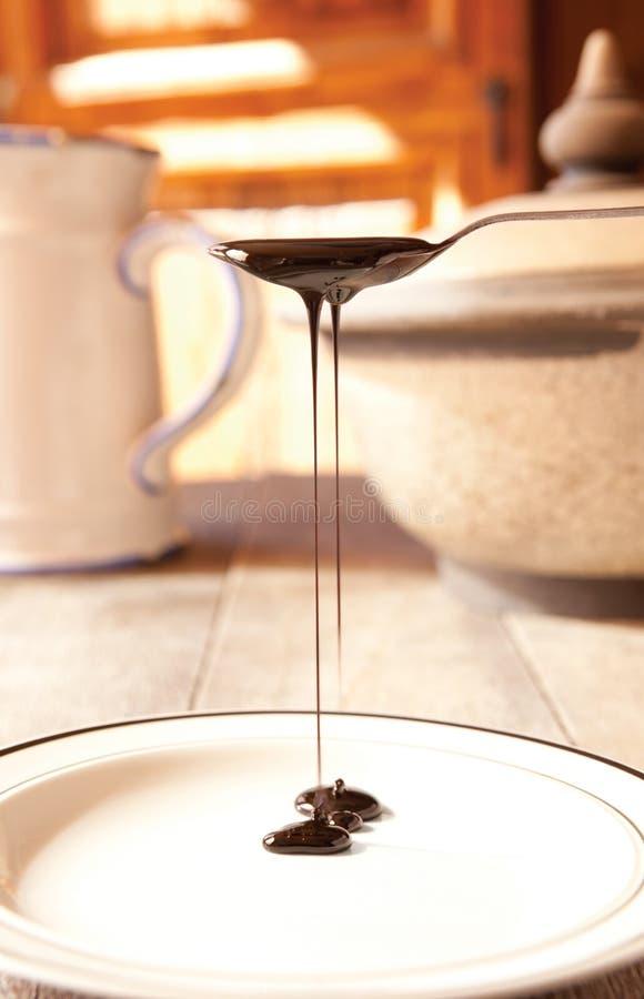 Blackstrap糖浆 免版税图库摄影