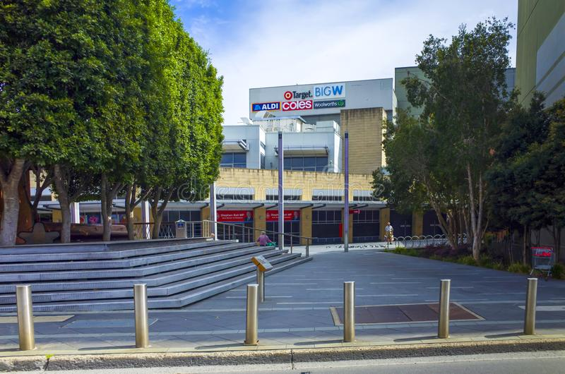 The Westpoint Shopping Centre in Blacktown, Sydney, Australia. Blacktown, Sydney, Australia, 6 September 2018: The Westpoint Shopping Centre in Blacktown, Sydney stock image