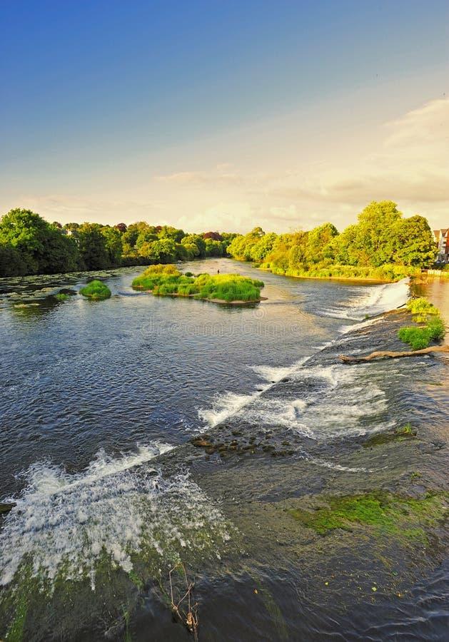 blackwater ποταμός στοκ εικόνα με δικαίωμα ελεύθερης χρήσης