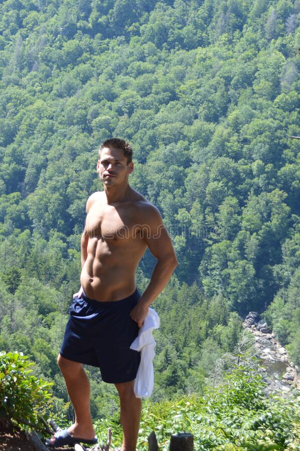 Blackwater Falls, West Virginia royalty free stock photography