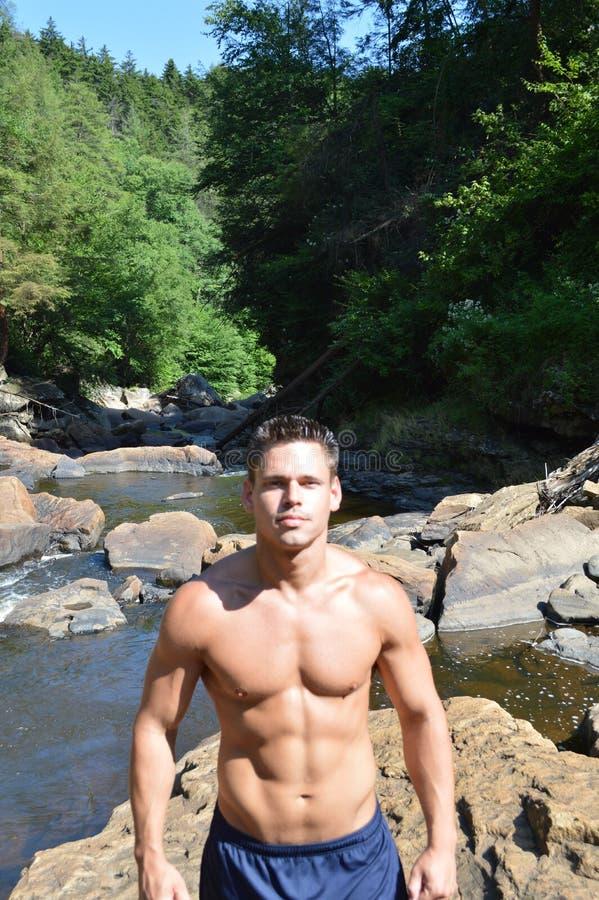 Blackwater Falls, West Virginia stock photography