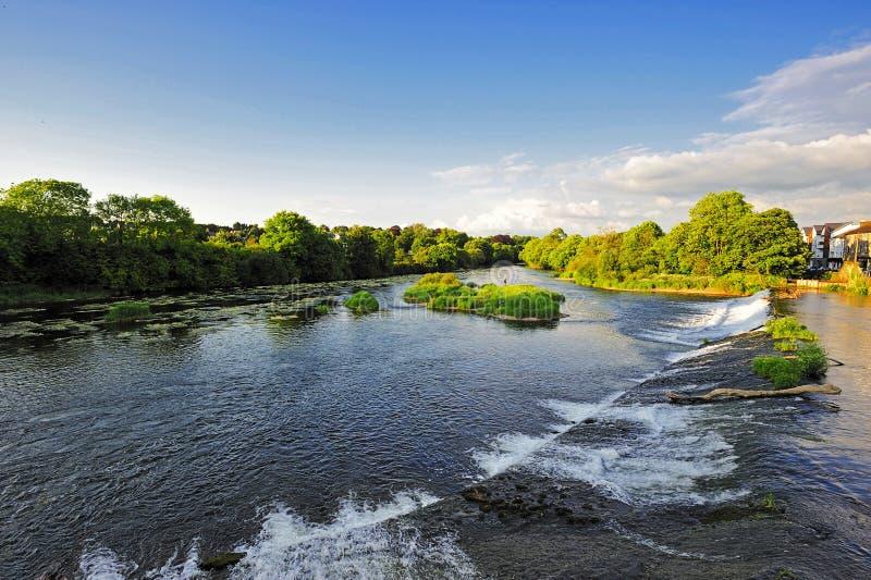blackwaterflod royaltyfria foton