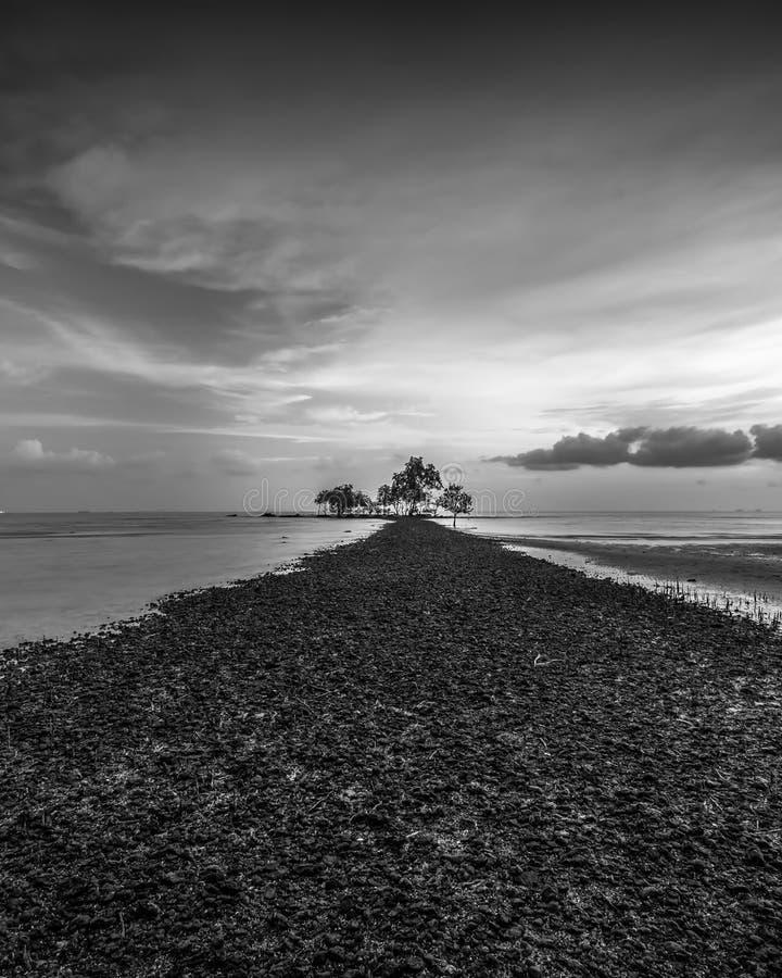 BlackWhite Photos at Batam Bintan Island Indonesia. Wonderful BlackWhite Photos at Batam Bintan Island Indonesia royalty free stock photography