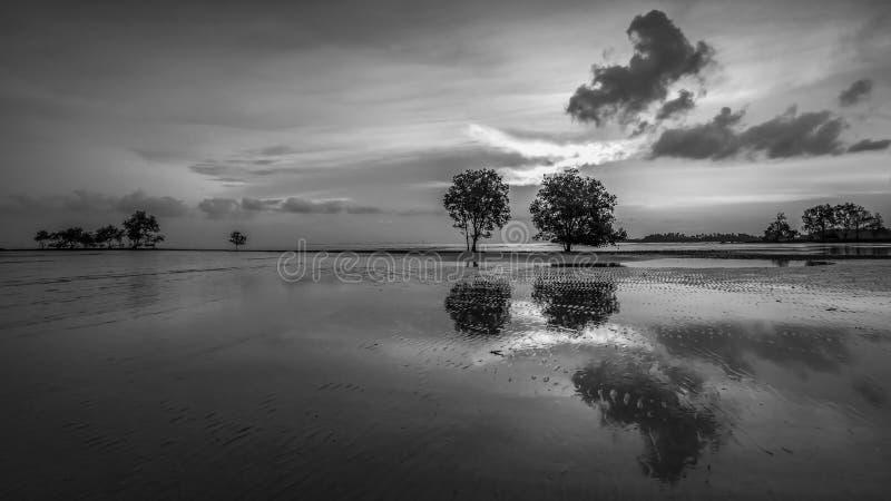 BlackWhite Photos at Batam Bintan Island Indonesia. Wonderful BlackWhite Photos at Batam Bintan Island Indonesia stock photography