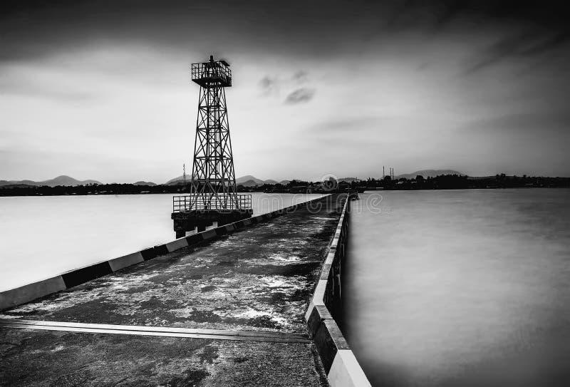 Blackwhite Photos at Batam Bintan Islands. Indonesia royalty free stock photography