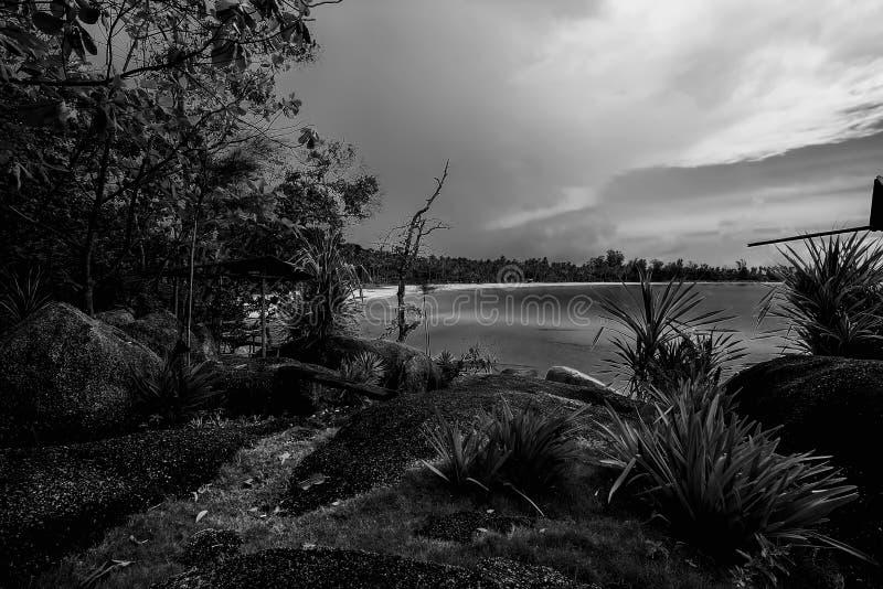Blackwhite Photos at Batam Bintan Islands. Indonesia stock photos