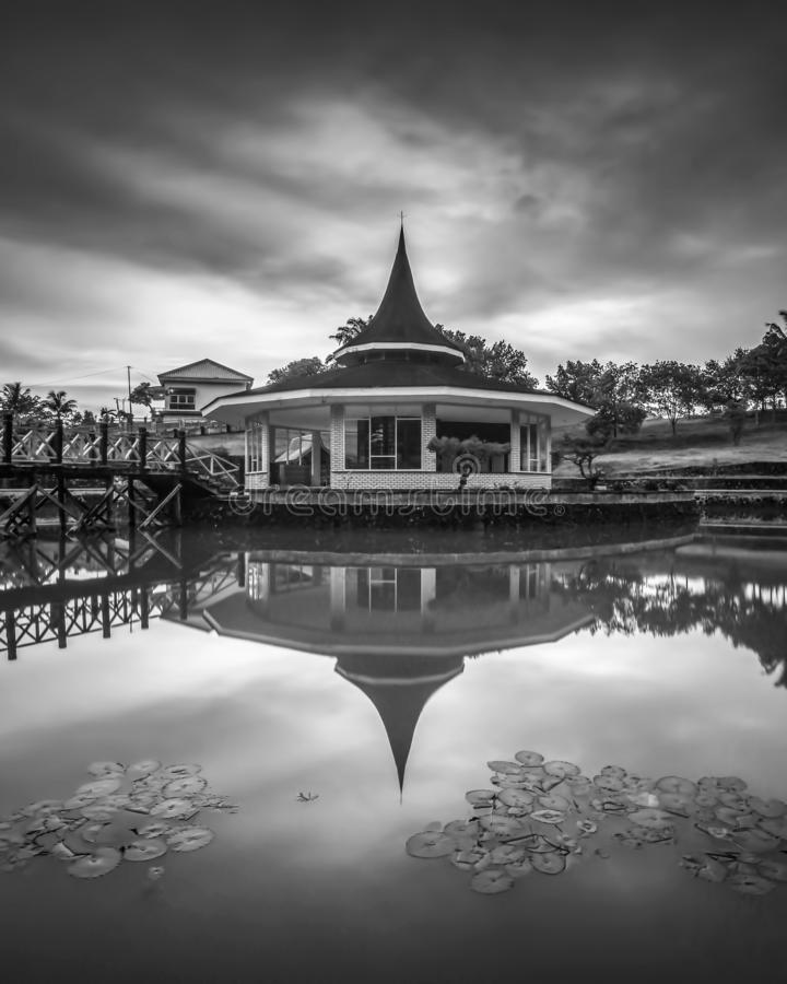 Blackwhite Photos landscape Wonderful Bintan Indonesia. Blackwhite Photos landscape Wonderful Bintan batam Indonesia royalty free stock photo