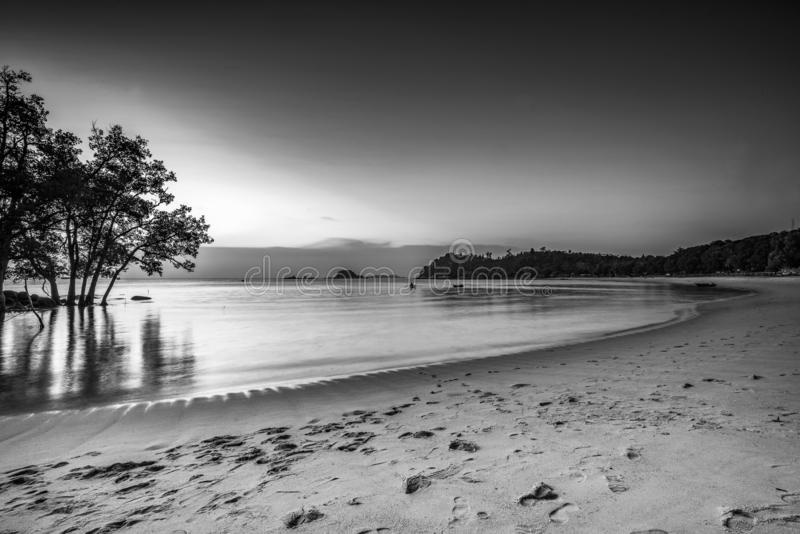 Blackwhite Photos landscape Wonderful Bintan Indonesia. Blackwhite Photos landscape Wonderful Bintan batam Indonesia stock photos