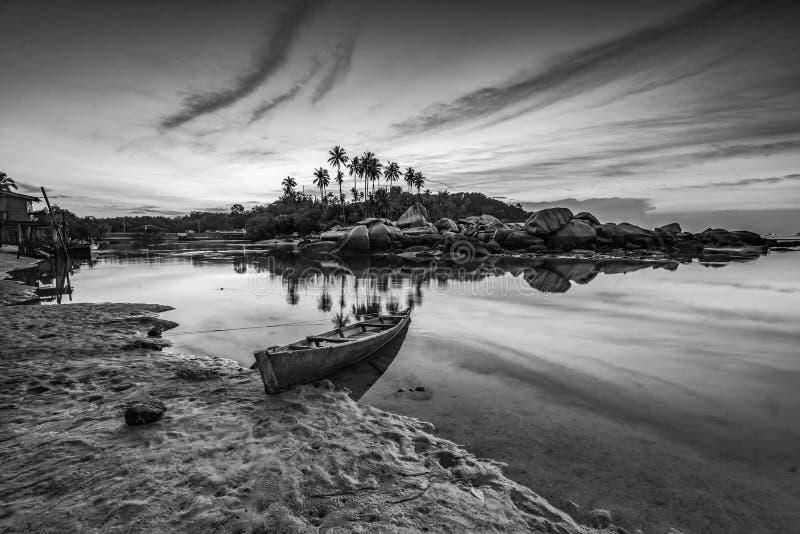 Blackwhite Photos landscape Wonderful Bintan Indonesia. Blackwhite Photos landscape Wonderful Bintan batam Indonesia royalty free stock image