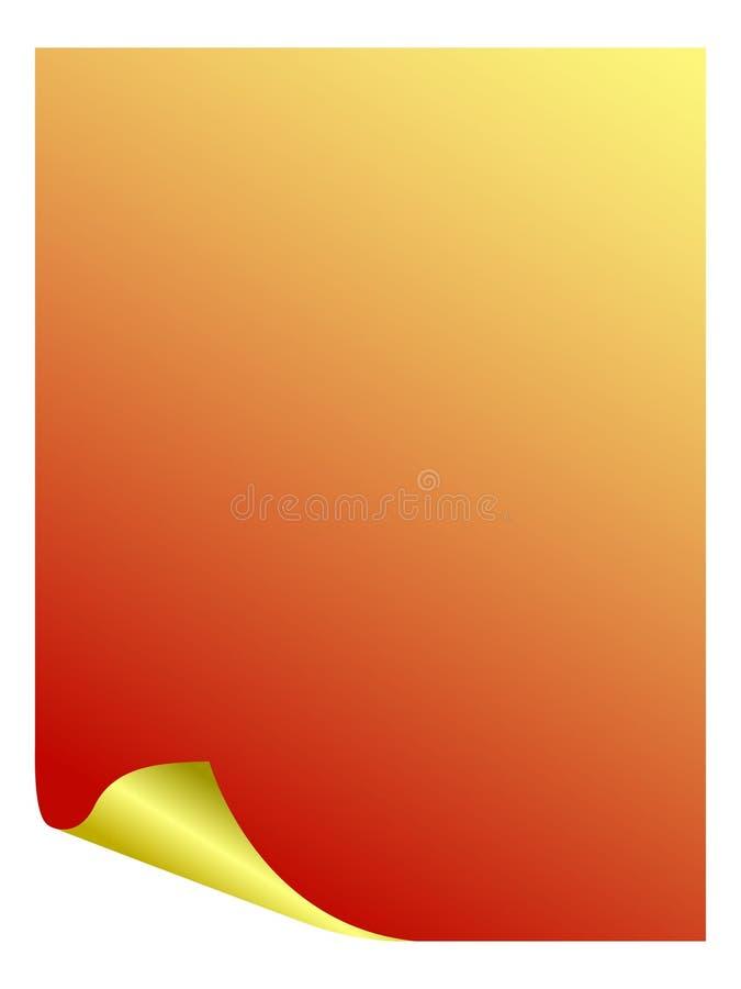Download Blad vector illustratie. Illustratie bestaande uit nota - 10775998
