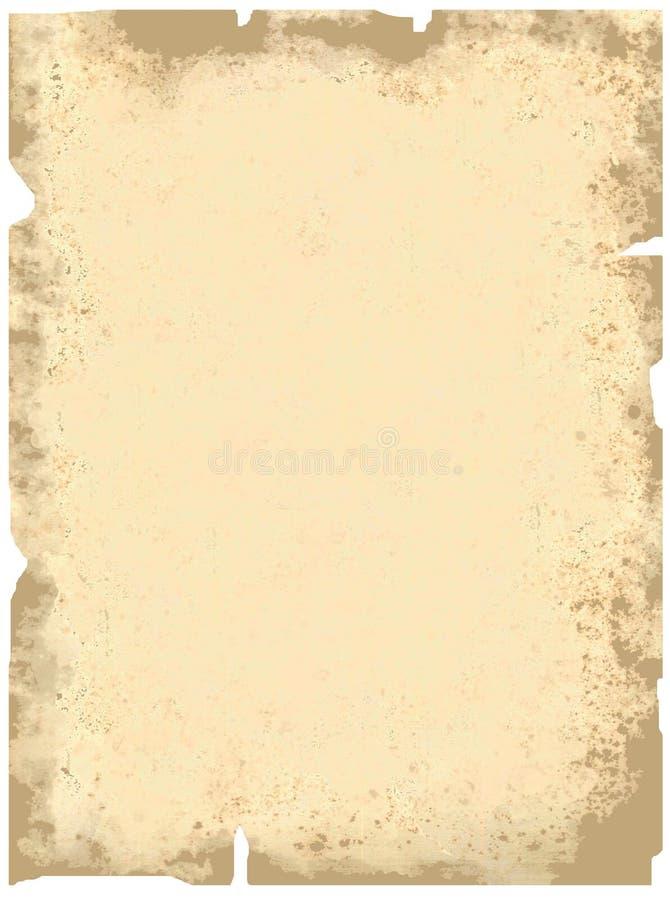 Blad van een document stock afbeeldingen