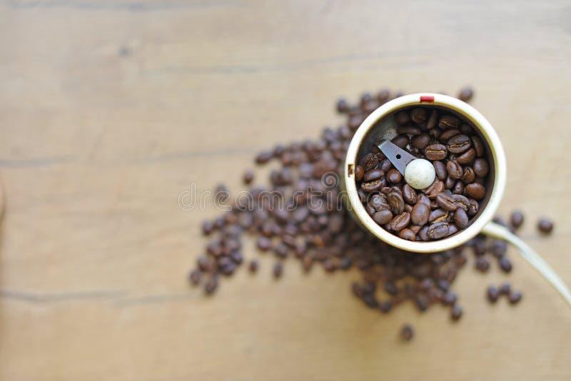 A blade or propeller coffee grinder. stock photos