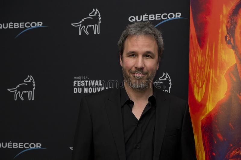 Blade Runner 2049 Red Carpet Event. Director Denis Villeneuve at the Red Carpet event for Blade Runner 2049 in Montreal royalty free stock images