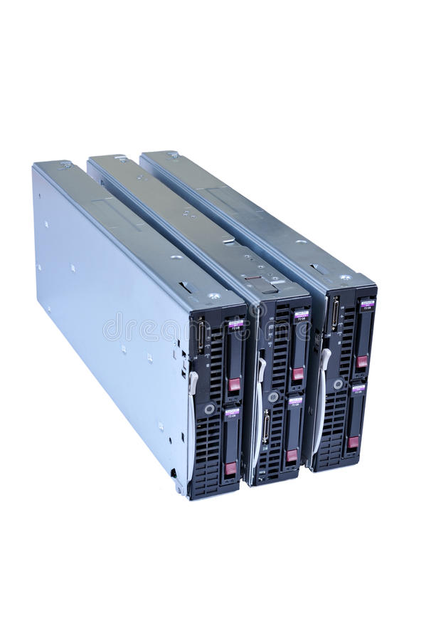 Blade Servers 02 Royalty Free Stock Photography