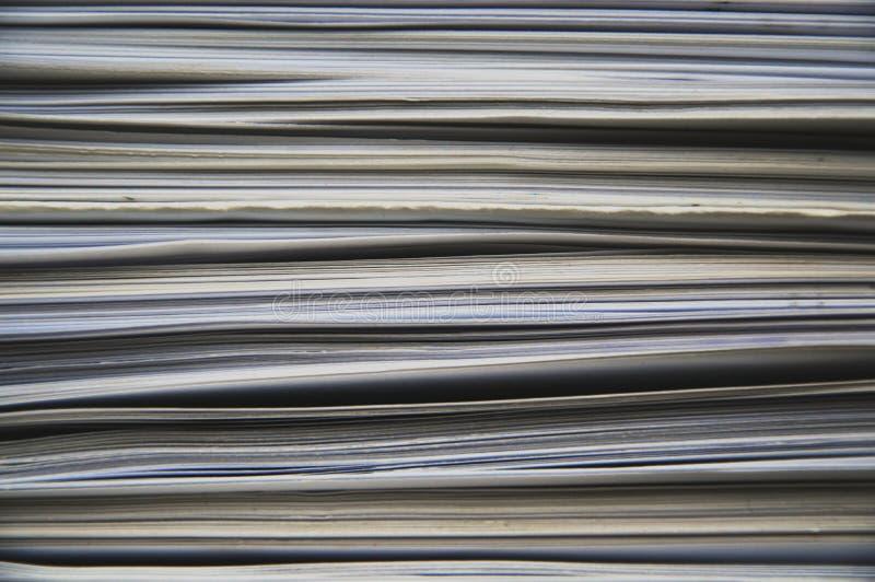 Bladen van document stock foto's