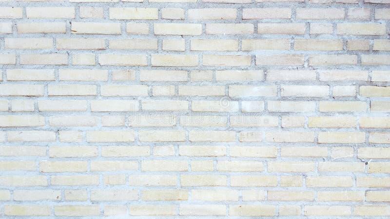 Blady ściana z cegieł zdjęcie royalty free