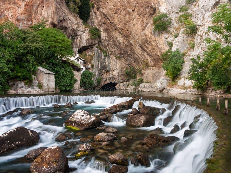 Blagaj Bósnia e Herzegovina fotos de stock royalty free