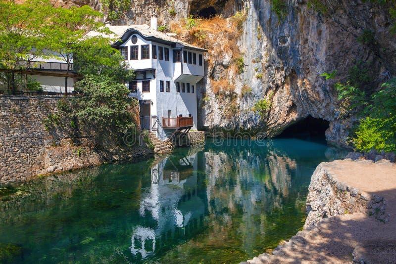 Blagaj de Bósnia fotos de stock royalty free