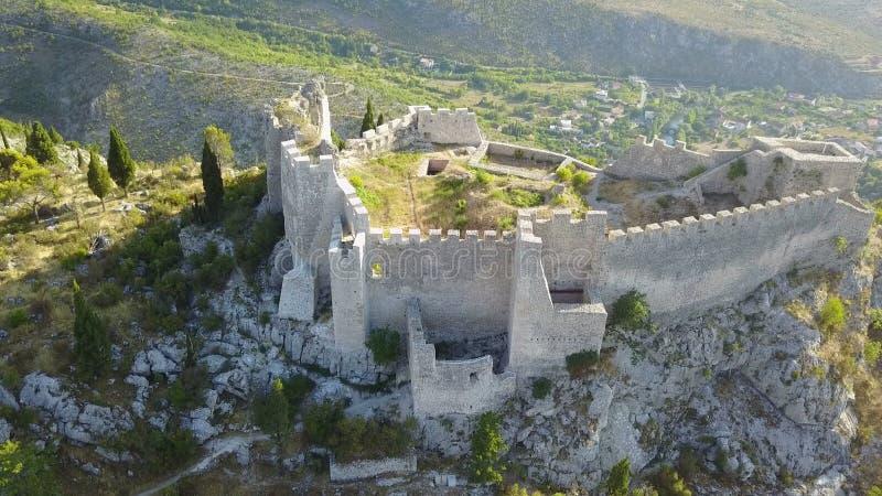 Blagaj - fästning fotografering för bildbyråer