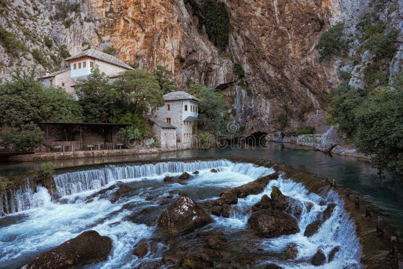 Blagaj Tekke And Source Of The Buna River, Bosnia And Herzegovina stock image