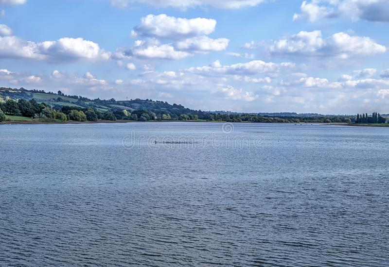 Blagdon Lake in Somerset in South West England. Mendip stock photos
