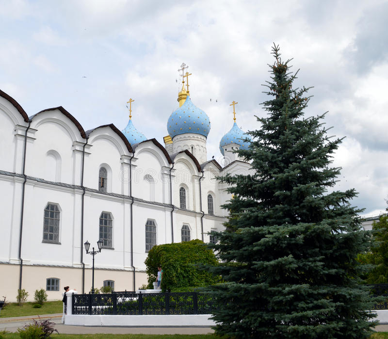 Blagoveshchensky cathedral royalty free stock photography