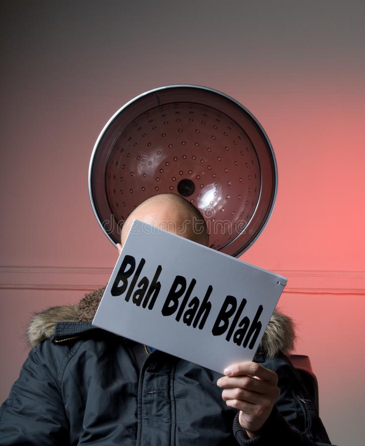 Blah#2- Sign Series royalty free stock images