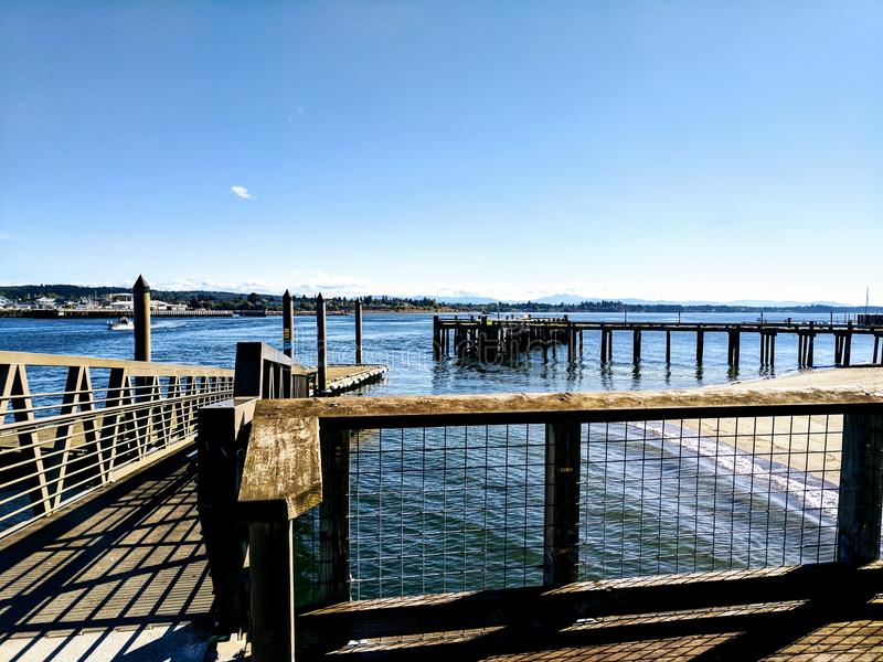 Blaine Dock images stock