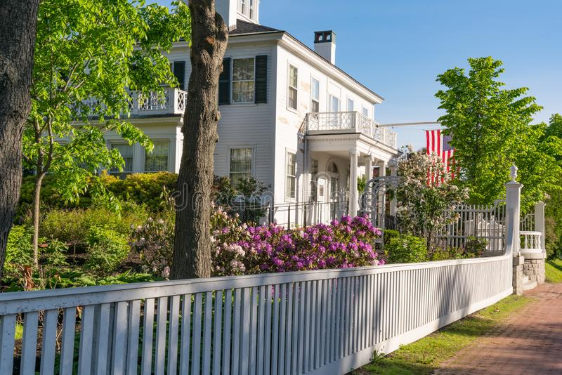 Blaine House in Augusta, Maine lizenzfreie stockfotografie