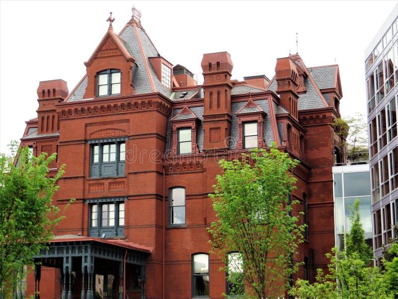 Blaine Mansion, Washington DC photo libre de droits