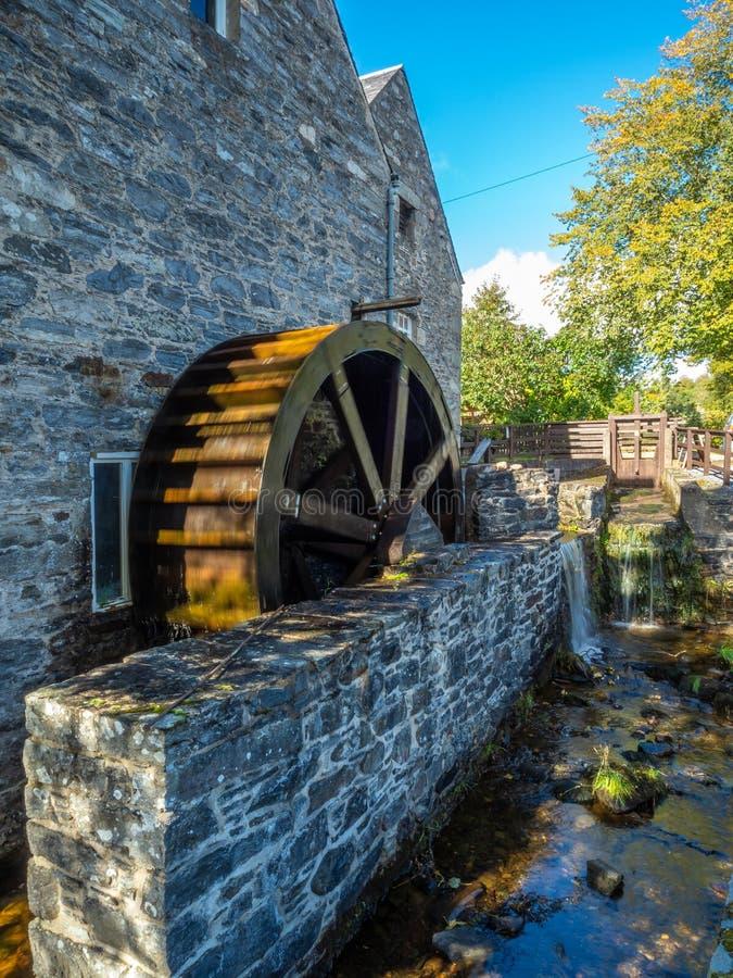 Blair Atholl Water Mill Traditionelle Lebensmittelproduktion lizenzfreie stockbilder
