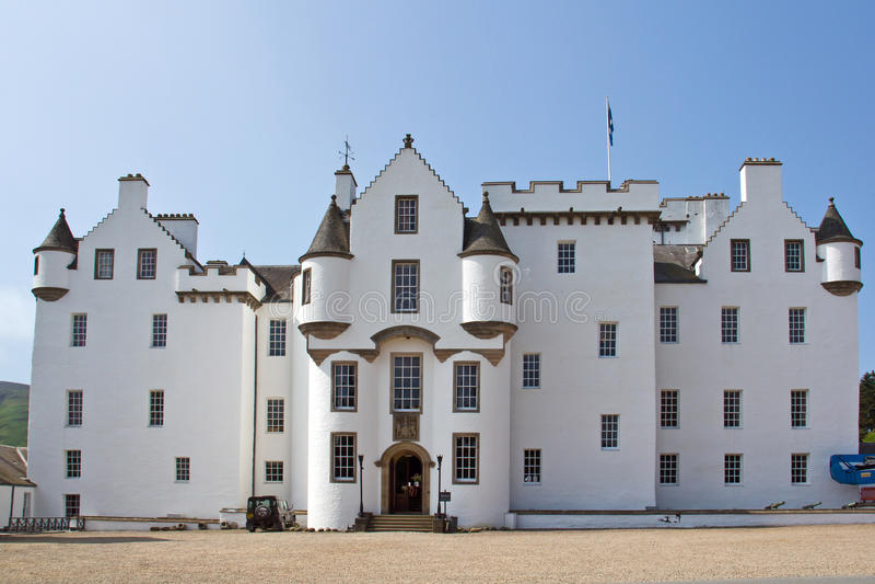 Blair Castle, Σκωτία στοκ εικόνες με δικαίωμα ελεύθερης χρήσης