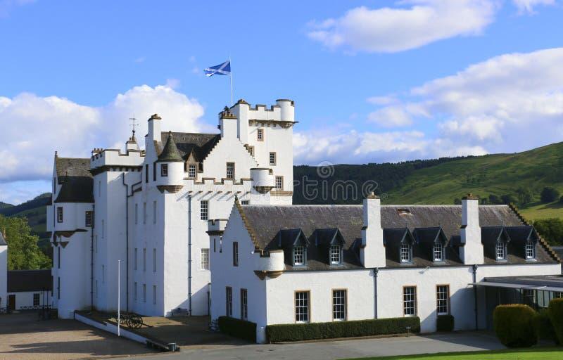 Blair Castle, Atholl, Schotland stock afbeeldingen