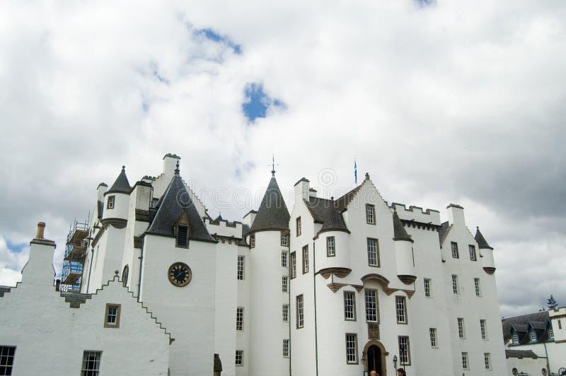 blair castle fasade стоковое изображение rf