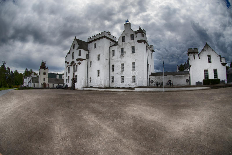 Blair castle royalty free stock photo