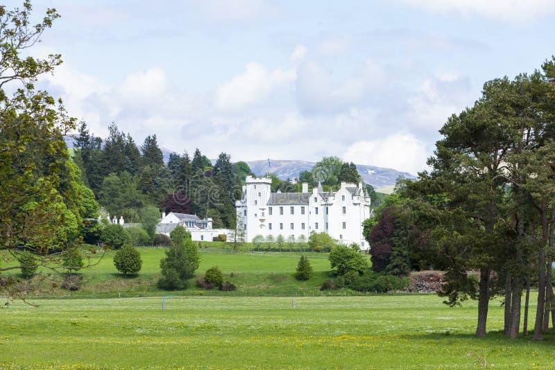 Blair Castle, Perthshire, Σκωτία στοκ φωτογραφία με δικαίωμα ελεύθερης χρήσης