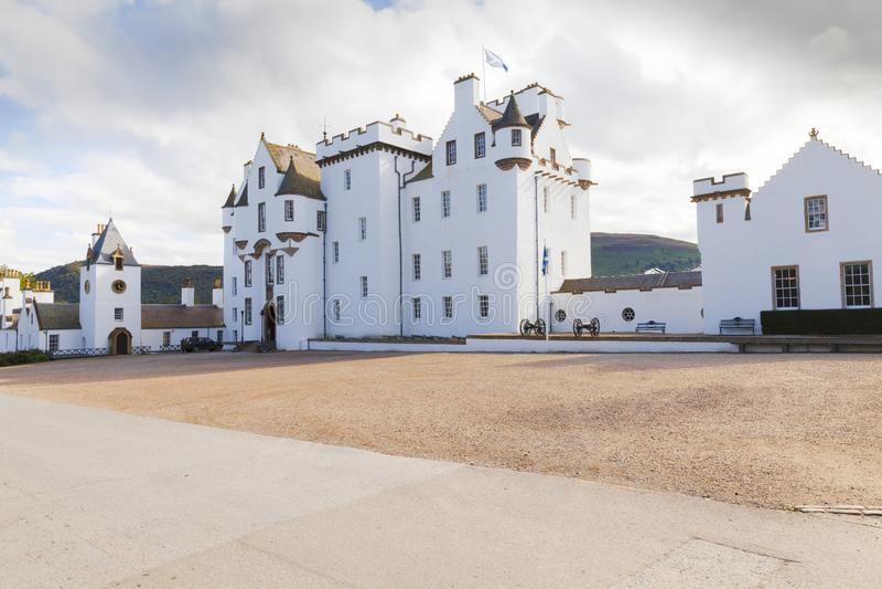 Blair Castle Scotland 1 lizenzfreie stockfotografie