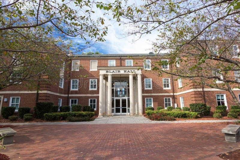 Blair Hall en WSSU imagenes de archivo