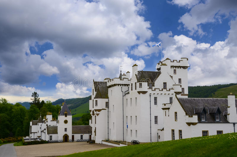 Blair-Schloss stockfotografie
